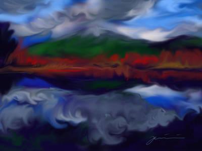 Mount Monadnock Poster by Jean Pacheco Ravinski