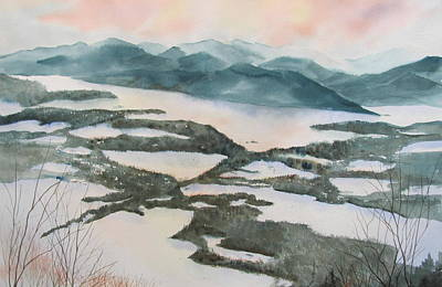 Mount Philo Winter Poster by Amanda Amend