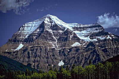 Mount Robson Poster by Richard Farrington