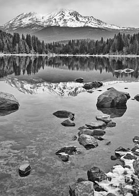 Mount Shasta Reflection Poster by Jamie Pham
