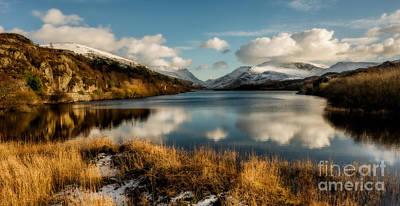 Mount Snowdon Poster by Adrian Evans