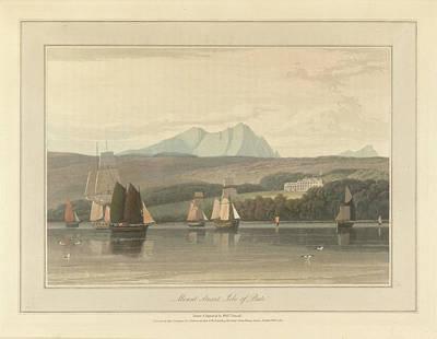 Mount Stuart On The Isle Of Bute Poster