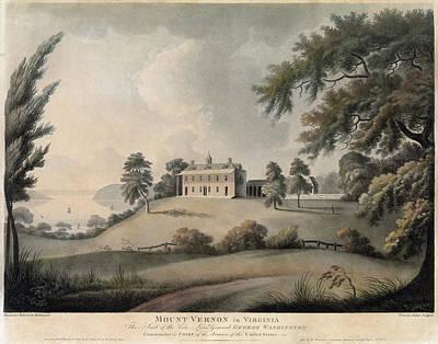 Mount Vernon, 1800 Poster