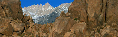 Mount Whitney, Lone Pine, California Poster