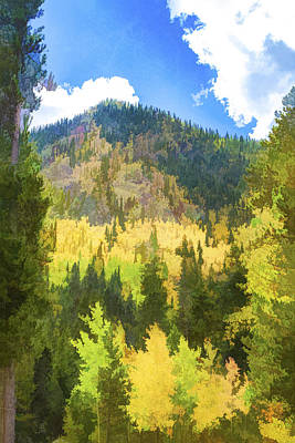 Mountain Colors Poster