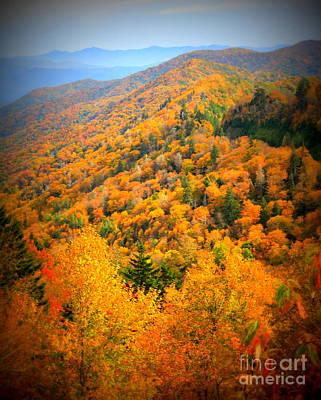 Mountain Glory Poster
