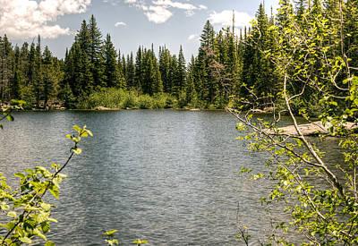 Mountain Lake Poster