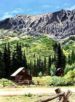 Mountain Majesty Poster by Barbara Jewell