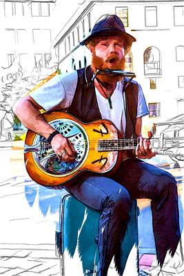 Mountain Man Music Poster