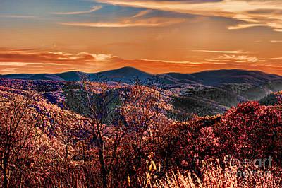 Mountain Of  Joy Poster by B Wayne Mullins