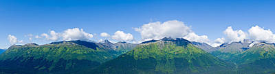 Mountain Range, Chugach Mountains Poster by Panoramic Images