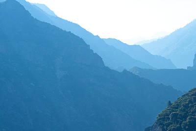 Mountain Range Landscape Poster