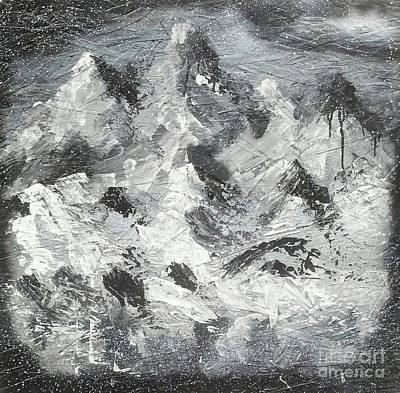 Mountain Snow Life Poster