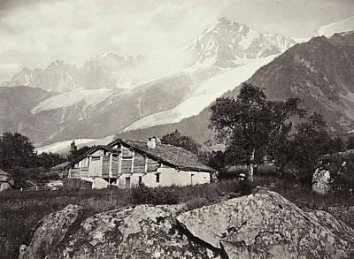 Mountain View In Switzerland, William England Poster by Artokoloro