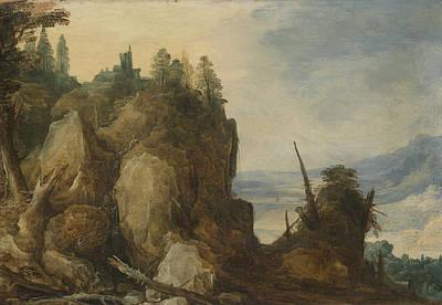 Mountain View, Joos De Momper II Poster by Litz Collection