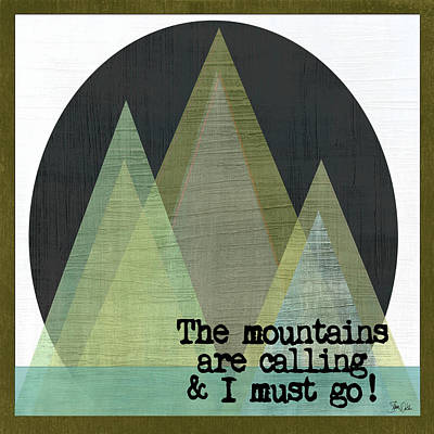 Mountains Are Calling II Poster