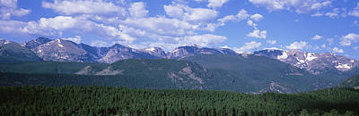 Mountains Fr Beaver Meadows Rocky Mt Poster by Panoramic Images