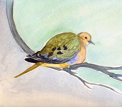 Mourning Dove Poster by Katherine Miller