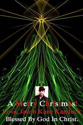 Moveonart A Merry Christmas Love Jacob Kanduch Poster by Jacob Kanduch