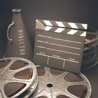 Movie Reel Poster