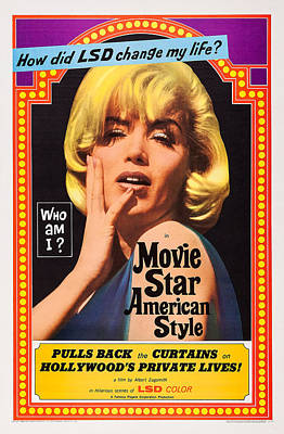 Movie Star, American Style Or Lsd, I Poster