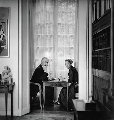 Mr. And Madame Henri Bonnet Poster