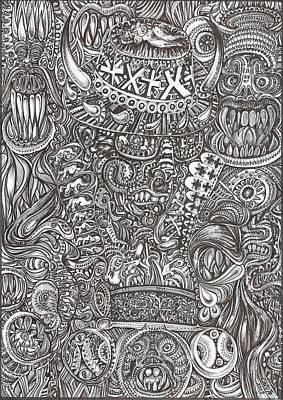 Mr Chameleon Poster by Giovanni Caputo