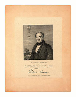 Mr. Edward Spencer Poster by Harding, George Perfect, (1780-1853), British