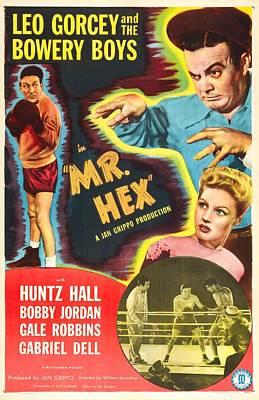 Mr. Hex, Us Poster, From Left Huntz Poster