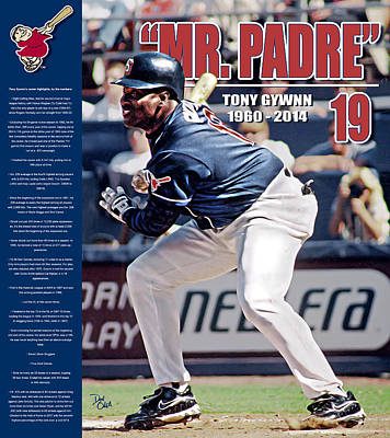 Mr Padre Poster by Don Olea