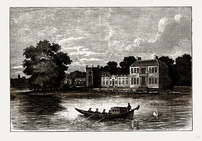 Mr. Pitts House At Twickenham, Uk Poster by Litz Collection
