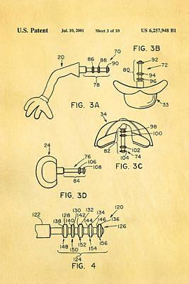 Mr Potato Head 2 Patent Art 2001 Poster