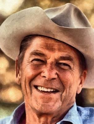 Mr. President Ronald Reagan Poster