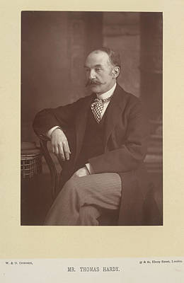 Mr Thomas Hardy Poster by British Library