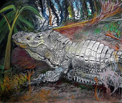 Mr.alligator Poster