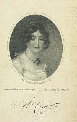 Mrs. Coutts Poster by British Library