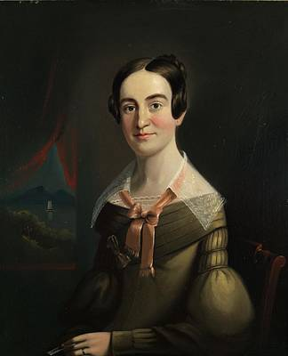 Mrs. Eunice Hall Of Portland, Maine Poster by William Matthew Prior