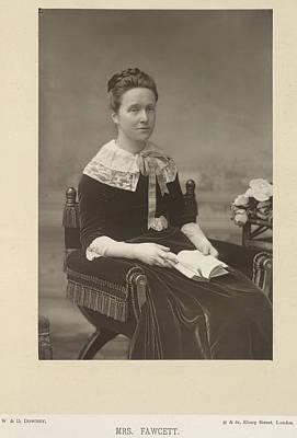 Mrs Fawcett Poster