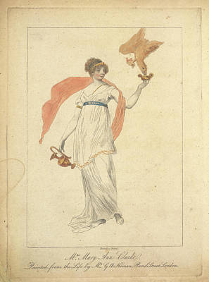 Mrs Mary Anne Clarke Poster by British Library
