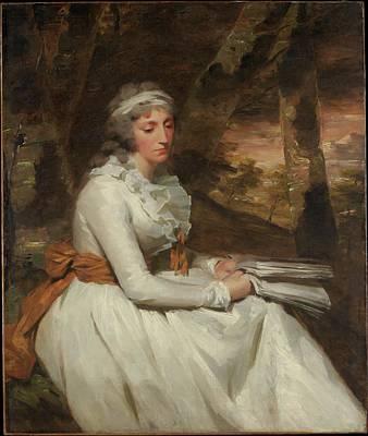 Mrs. Richard Alexander Oswald Louisa Poster by Sir Henry Raeburn