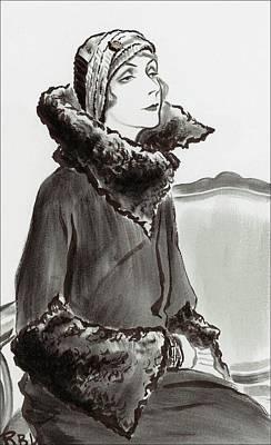 Mrs. Van Heukelom Poster by Ren? Bou?t-Willaumez