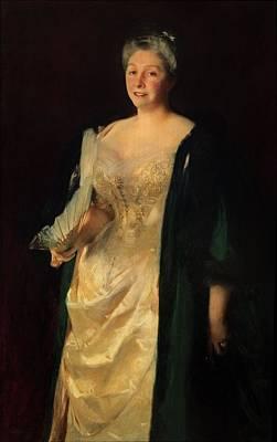 Mrs. William Playfair, 1887 Poster