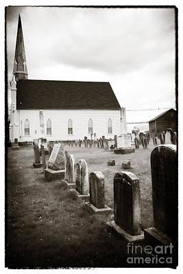 Mt. Airy Presbyterian Church Poster by John Rizzuto