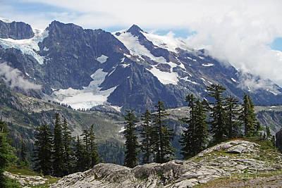 Mt Baker Washington View Poster
