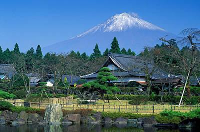 Mt. Fuji Japan Poster by Robert Jensen