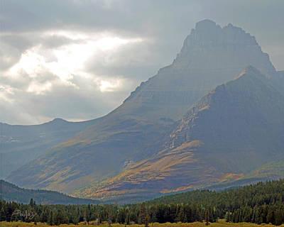 Mt Grinnell - Glacier National Park Poster