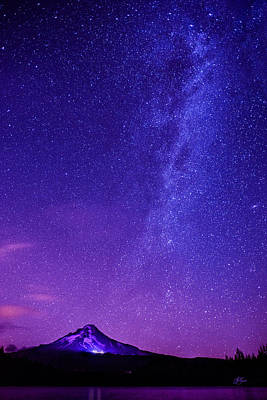 Mt. Hood Milky Way 01 Poster