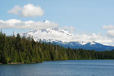 Mt Hood View From Lost Lake Poster