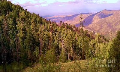 Mt. Lemmon Vista Poster