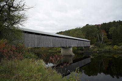 Mt. Orne Covered Bridge Poster by Science Stock Photography